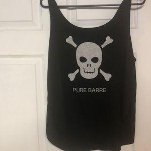 Pure barre skull tank